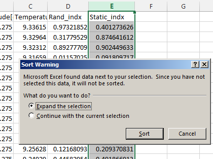 Randomize and/or Subsample Table Data in Excel
