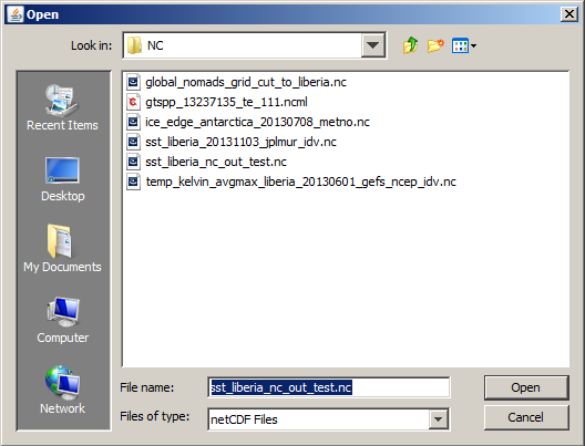 Managing NetCDF, HDF (4/5) and GRIB Files with Principal